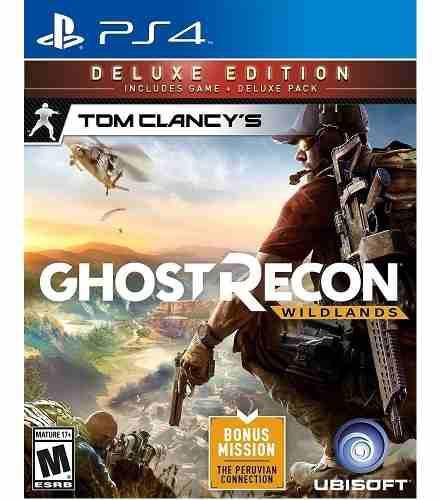 Ps4 juego tom clancy's ghost recon wildands deluxe edition