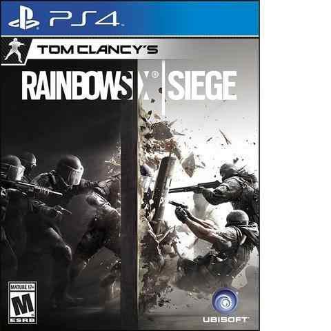 Ps4 juego tom clancy´s rainbow six siege.