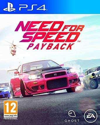 Ps4 - need for speed payback - juego fisico (mercado pago)