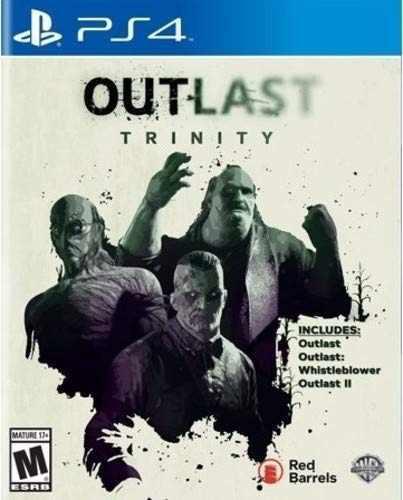 Ps4 - outlast trinity - juego fisico (mercado pago)