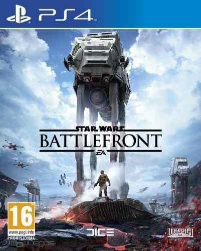 Ps4 - star wars battlefront - juego físico (mercado pago)