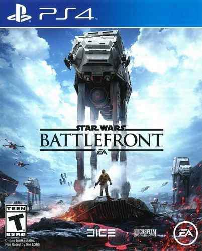Star wars battlefront ps4 playstation 4 nuevo sellado juego