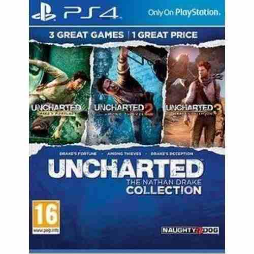 Vídeo juego uncharted: the nathan drake collection -