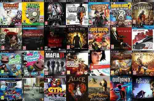 Video juegos digitales para ps3 y ps4