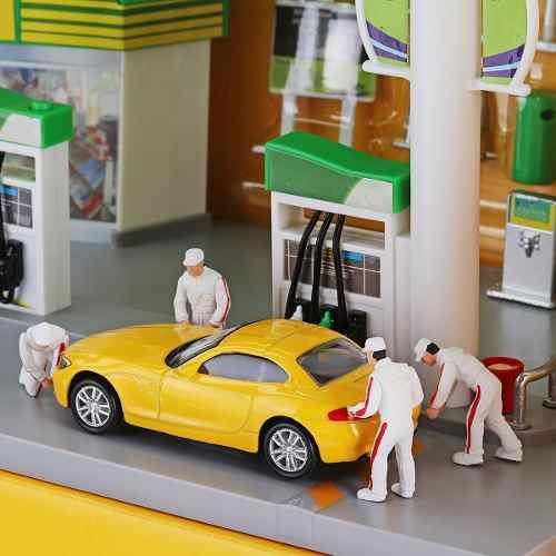 4 unids/set figuras pintadas 1:64 figuras miniaturas coche m