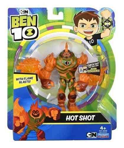 Ben 10 figura acción hot shot 2019