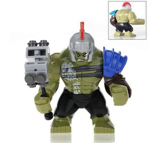 Figura ragnarok hulk 7 cm, lego compatible, vengadores