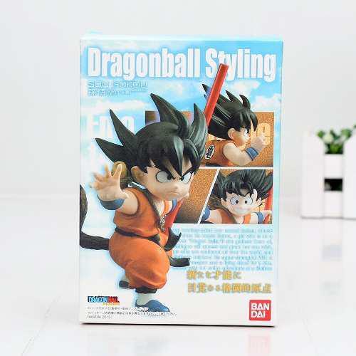 Figuras Goku. Dragon Ball Styling. 8 Cms. Envio Gratis!