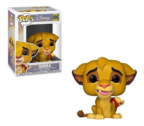 Funko Pop! Disney Rey León Figura Simba #496, 2019