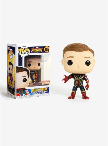 Funko pop marvel spiderman iron spider 305 boxlunch original