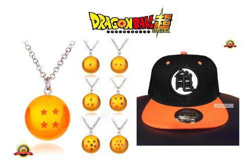 Goku dragon ball goku gorra y collar de esfera del dragon