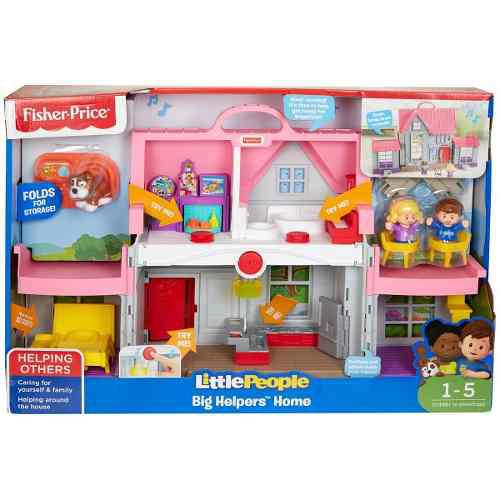 Little people casa juguemos juntos fisher price