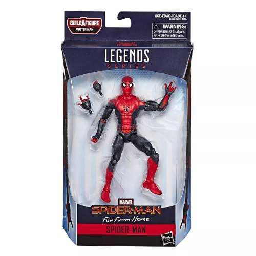 Marvel legends spiderman far from home envio de inmediato