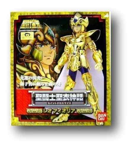 Nuevo myth cloth aioria aiolia leo jp sellado