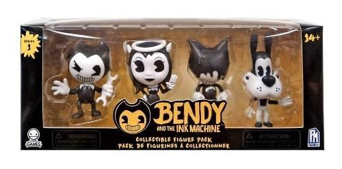 Pack 4 figuras serie 1 bendy and the ink machine