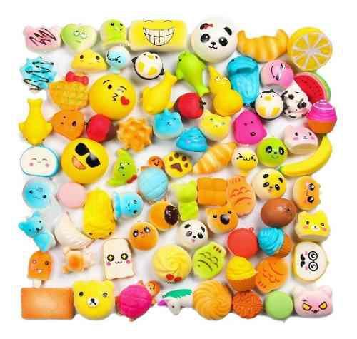Super lote 30 piezas squishy surtidas 1 jumbo mini medianos