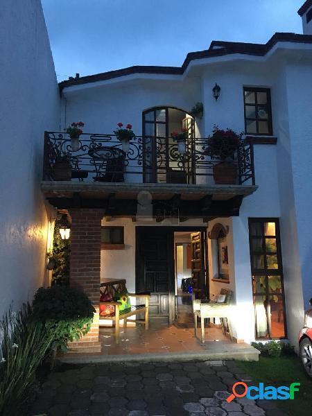 Casa amueblada en cuajimalpa a 10 minutos de santa fe