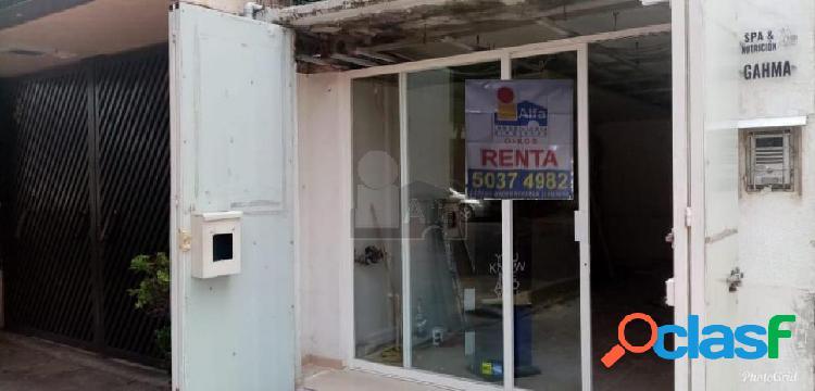 Local en renta en benito juarez, local comercial en renta colonia narvarte oriente, local 20m2