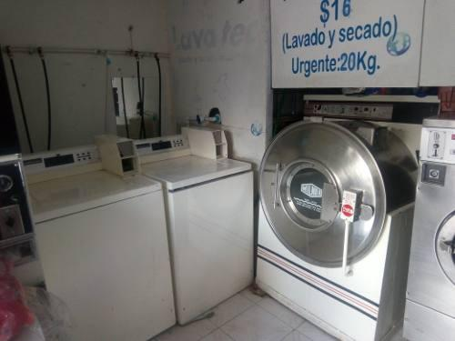 Lavadoras y secadoras industriales milnor, speed queen