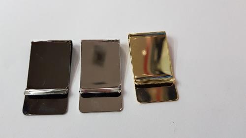 Money clip grabado color a escoger gold, plata y negro espe