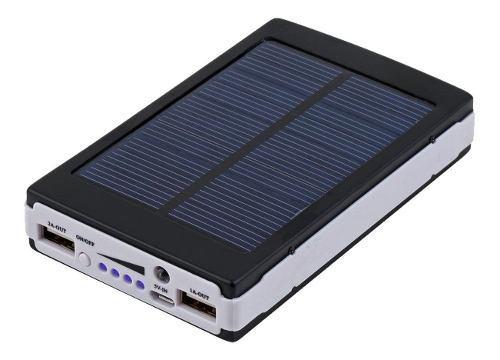 Power bank cargador solar bateria portatil celular 50000mah