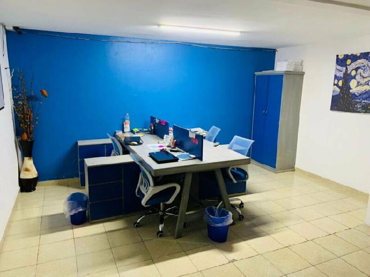 Rento oficinas en casa con uso de suelo militar marte