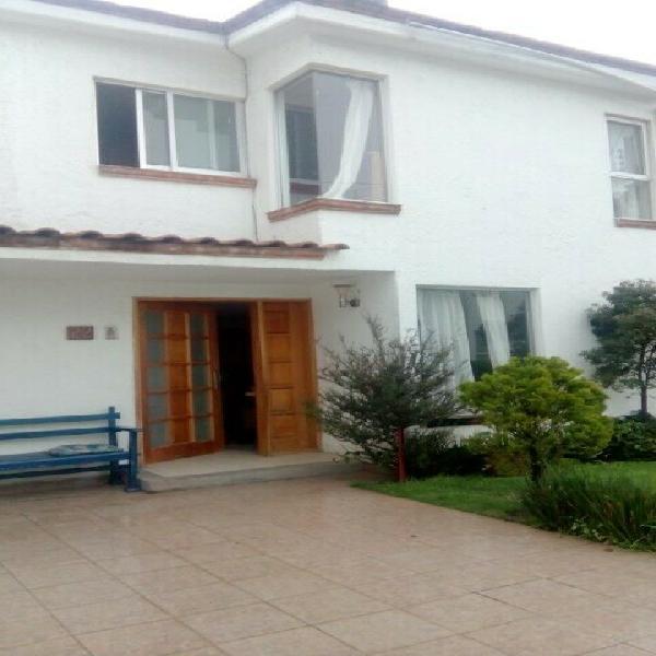 Renta casa cuajimalpa-santa fe