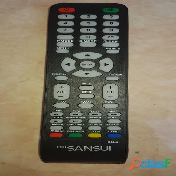 Control remoto sansui smartv led rm 41