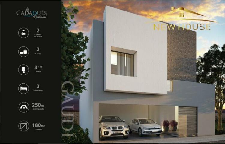 Casas en venta cadaques residencial en aguascaliente