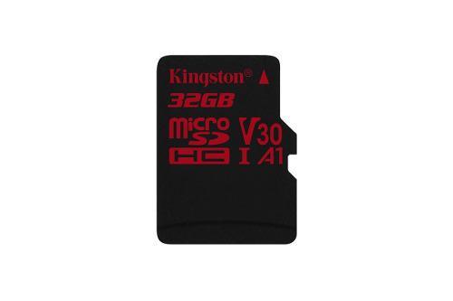 Kingston micro sd hc 32gb v30 a1 celular android camaras +