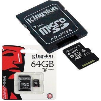 Memoria kingston original micro sd 64gb clase 10