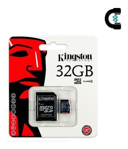 Memoria micro sd 32gb kingston con adaptador sd envío