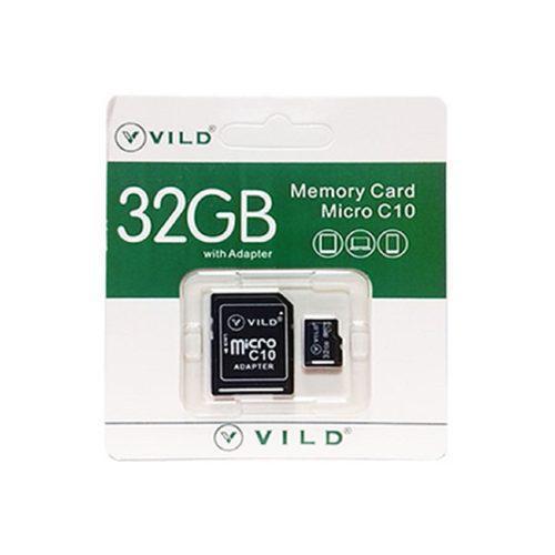 Memoria micro sd 32gb vild clase 10 con adaptador blister
