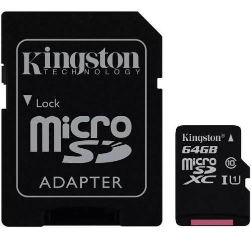 Memoria micro sd 64gb cl 10 sdcs/64gb nueva