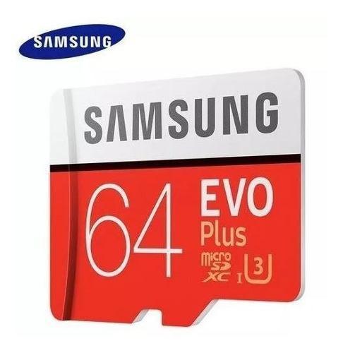 Memoria micro sd 64gb class10 sdhc/sdxc u3 para móviles