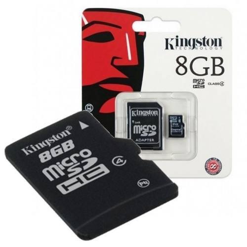 Memoria micro sd 8 gb sd kingston celulares en blister muzqu