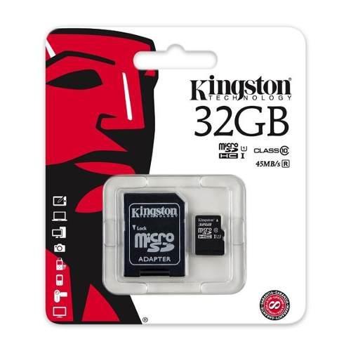 Memoria micro sd clase 10 32gb uhs-i c/adaptador, tieqro
