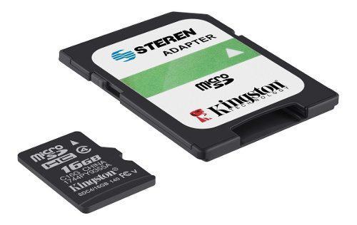 Memoria micro sd de 16 gb, clase 4 | msd-016/micro