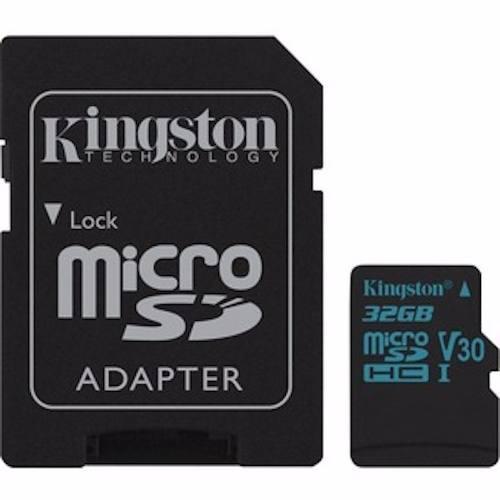 Memoria micro sd kingston 32gb canvas go u3 clase 10 4k