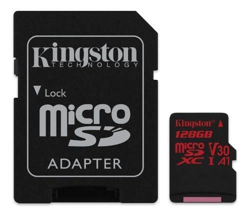 Memoria micro sd kingston canvas react sdcr/128gb