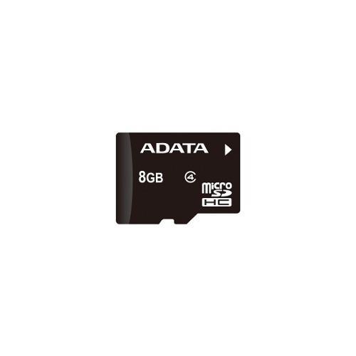 Memoria microsd hc 8gb adata con adaptador sd clase 4