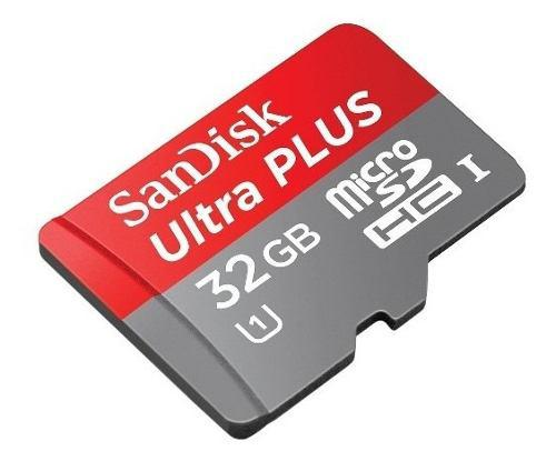 Memoria microsd sandisk ultra plus 32gb u1 90mb/s gopro 4k