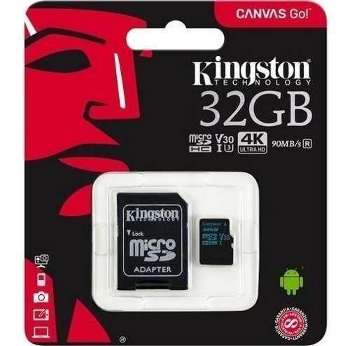 Memoria para gopro kingston micro sdhc xc 32 gb