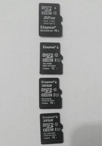 Memorias micro sd 32gb gopro originales envio gratis