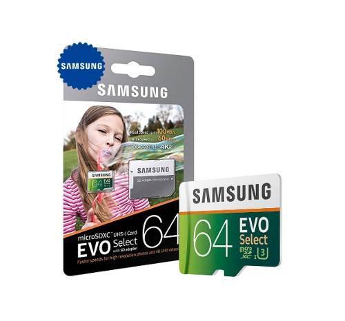 Micro Sd 32gb Samsung Evo Class 10 U1 Video Full Hd 1080p