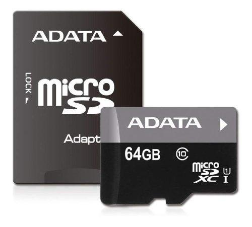 Micro sd 64 gb a data clase 10 (en d3 gamers)