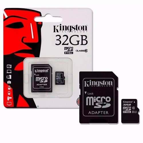 Micro tarjeta memoria sd 32gb kington