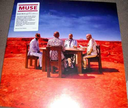 Muse - black holes & revelations (vinilo, lp, vinil, vinyl)