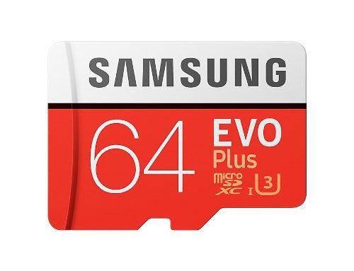 Samsung evo plus tarjeta de memoria 64gb micro sd