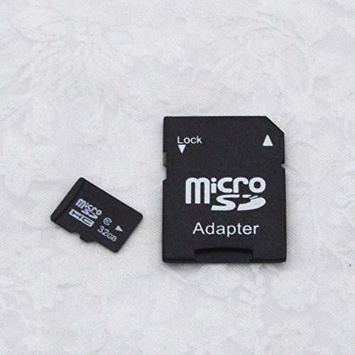 Tarjeta de memoria 32gb micro sdhc tf clase 10 con